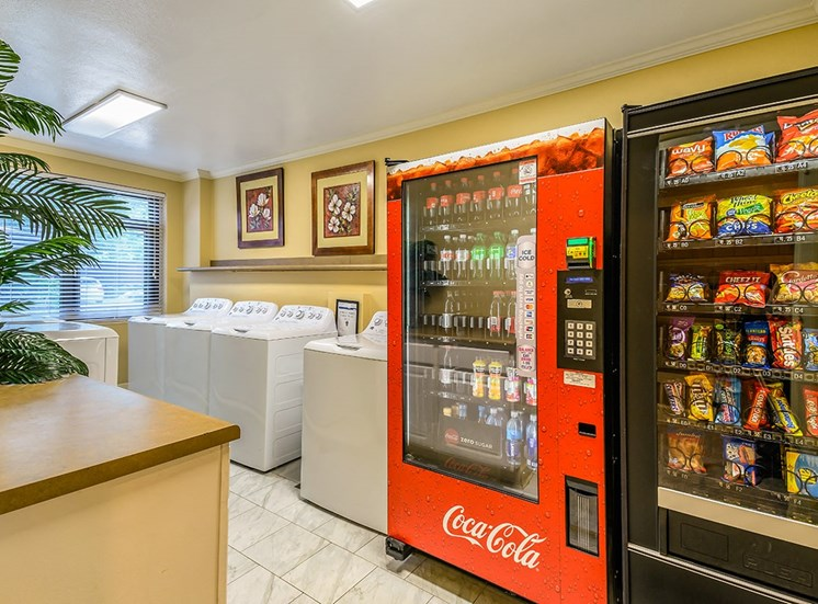 The Georgian's resident vending and drink machines