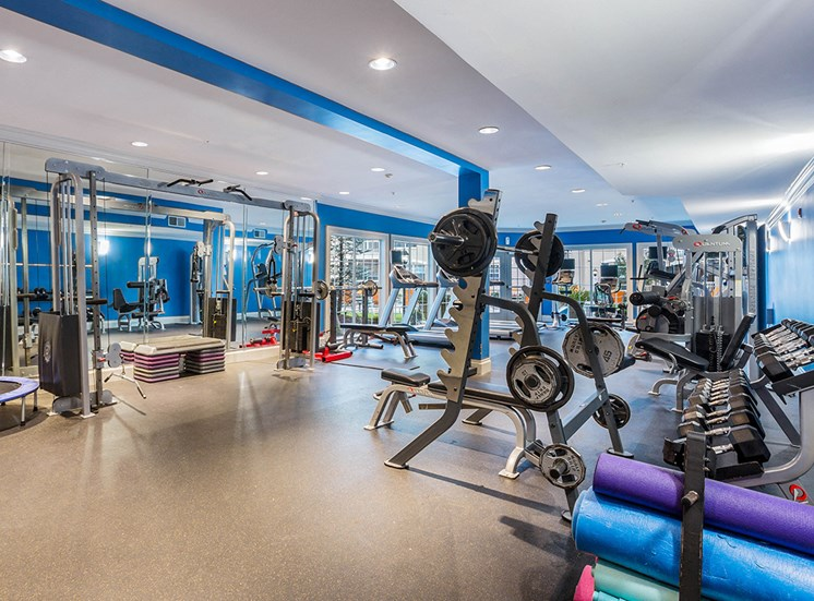 The Savoy features a fully equipped 24-hour fitness center