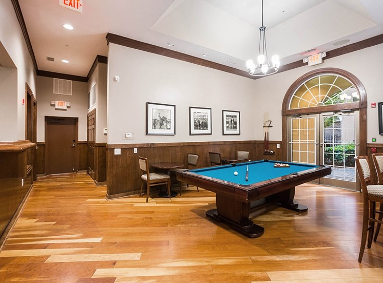 The resident clubhouse at The Savoy in Georgia