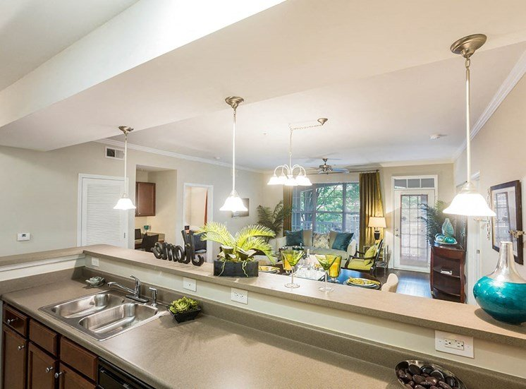 Atlanta apartments with large living areas