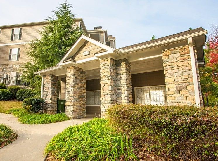 Barrett Walk Apartments mail center in Kennesaw, GA