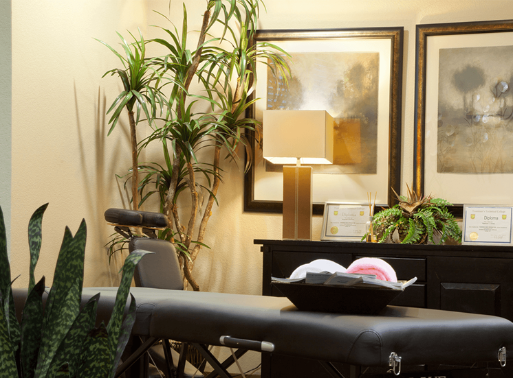 Perry Point apartments spa in Raleigh, North Carolina