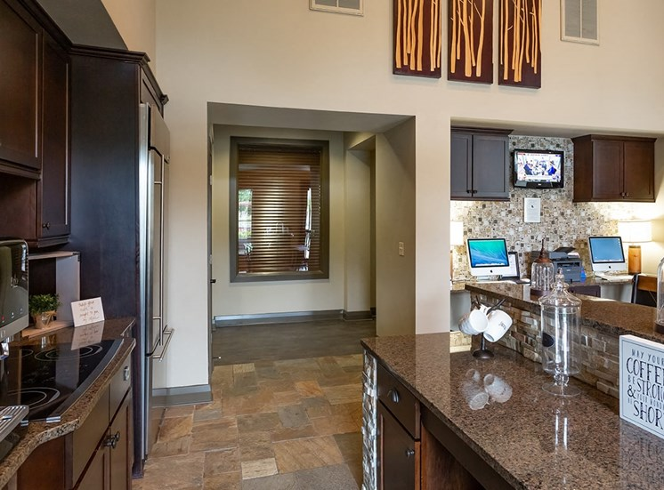 Perry Point apartments cyber cafe in Raleigh, North Carolina