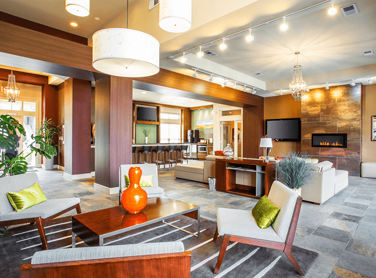 Settlers' Creek apartments clubhouse in Fort Collins, Colorado