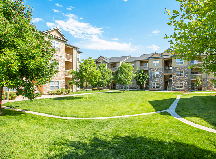 Settlers' Creek apartment residences in Fort Collins, Colorado