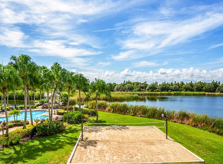 Mallory Square apartments outdoor amenities in Tampa, Florida