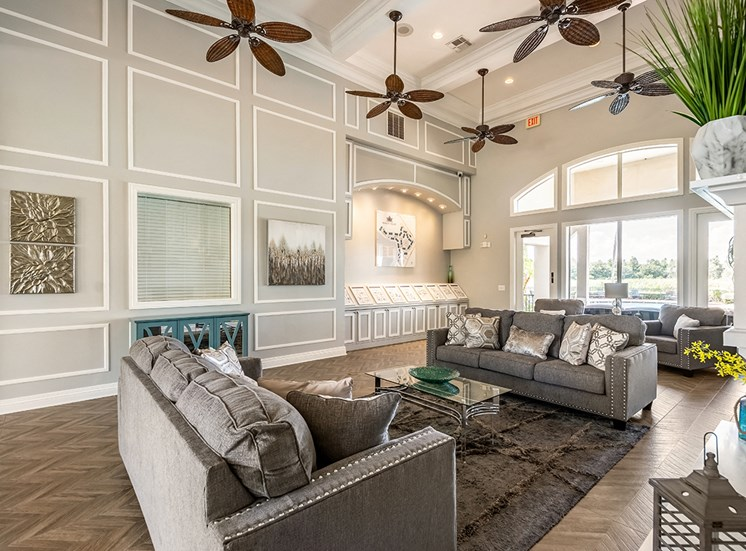 Mallory Square apartments clubhouse in Tampa, Florida