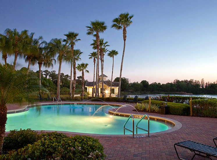 Mallory Square swimming pool in Tampa, Florida
