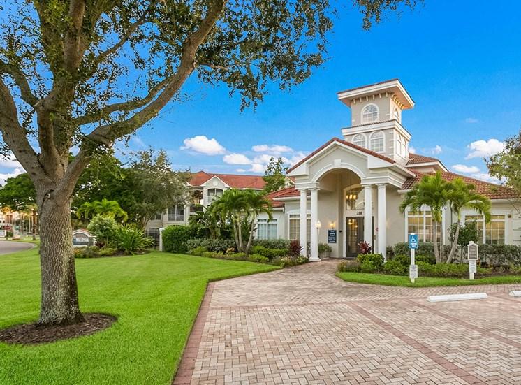 210 Watermark apartments leasing center in Bradenton, Florida