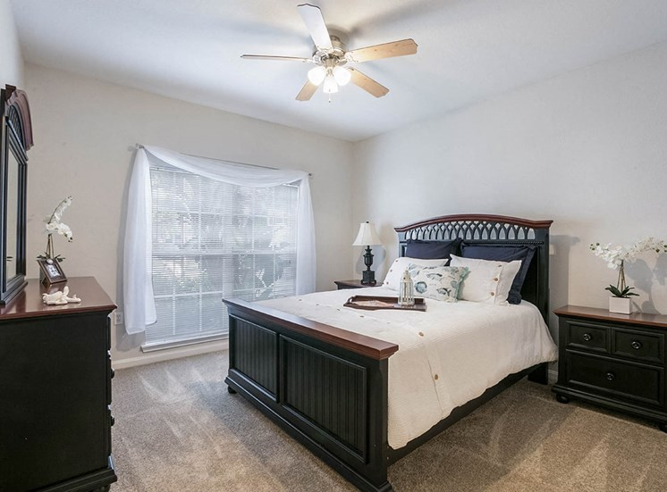 210 Watermark model suite bedroom in Bradenton, Florida