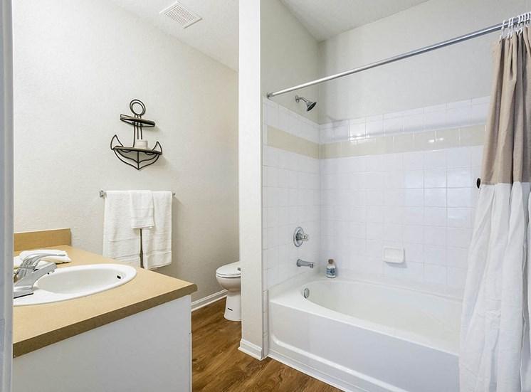 210 Watermark model suite bathroom in Bradenton, Florida