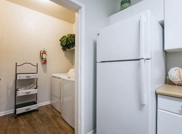 210 Watermark model suite kitchen in Bradenton, Florida