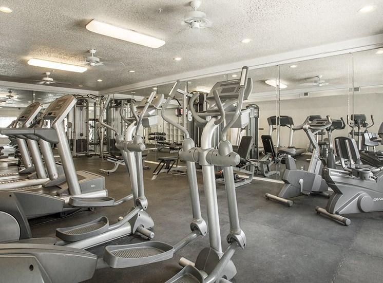 Verandah at Valley Ranch apartments fitness center in Irving, Texas