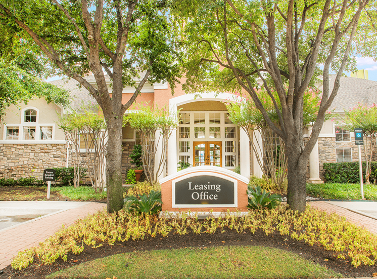 Grand Venetian apartments leasing center in Irving, Texas