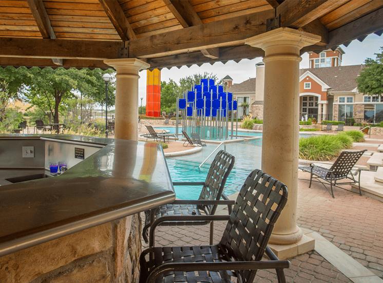 Grand Venetian apartments pavilion in Irving, Texas