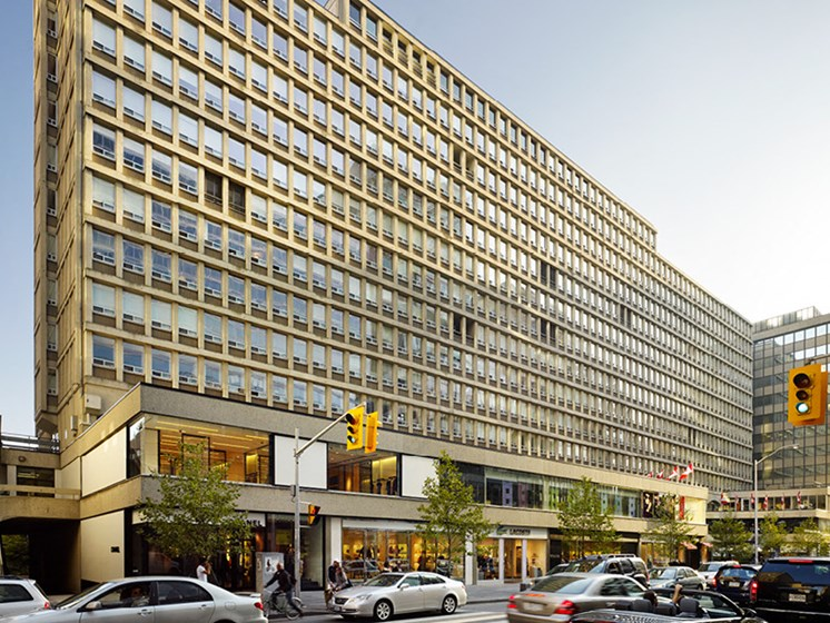 The Colonnade, at the heart of Yorkville's most stylish block