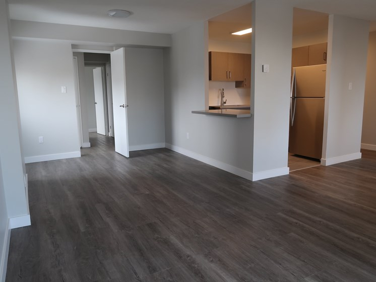 Renovated Dining + Family Room
