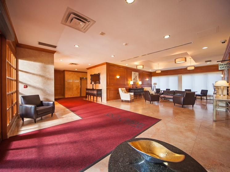 Apartment Lobby with Seating Area