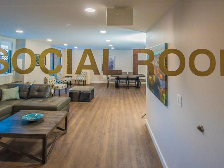 Enjoy Our New Social Room
