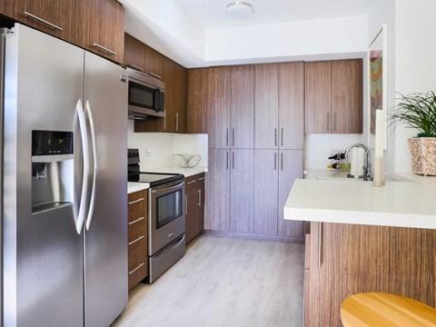 apartment interior kitchen