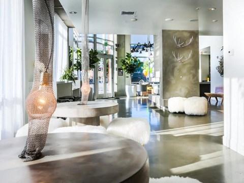 interior resident lobby