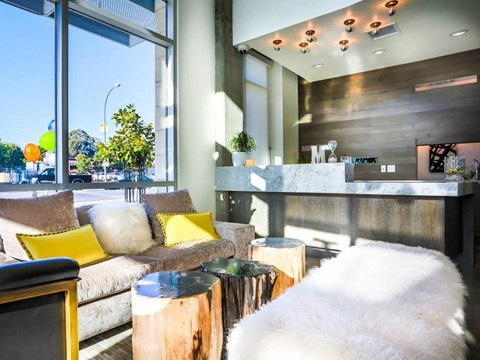 resident lobby lounge area
