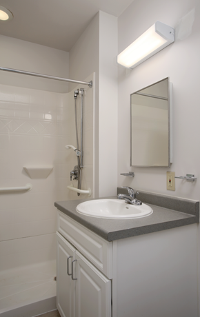Bathroom at Saint Theresa House