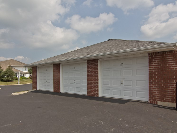Need extra storage space?  Want to protect your car?  We have garages available!