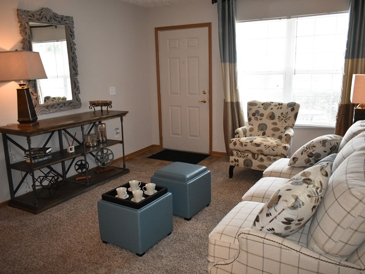 Another shot of the large living room!
