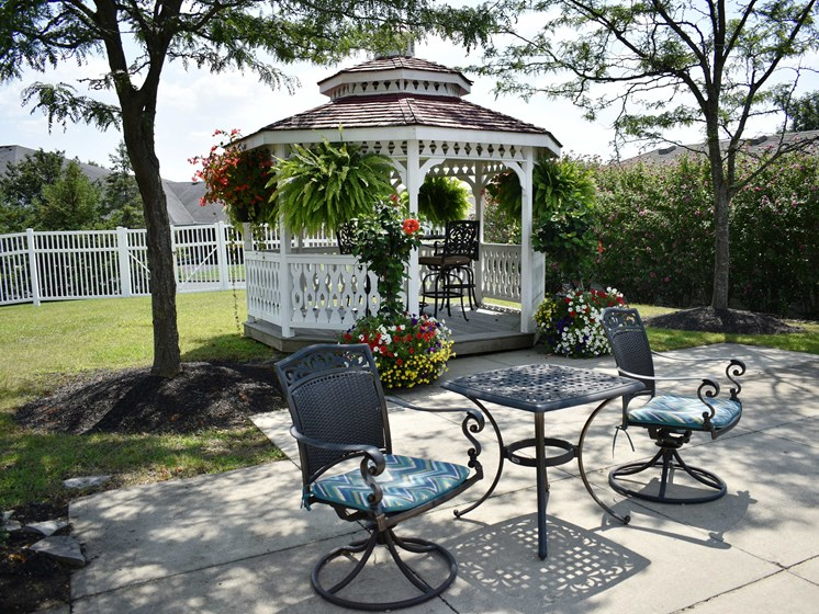We have many beautiful areas to relax in!