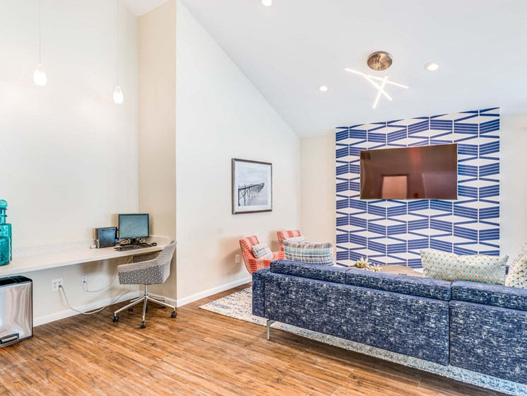 Luxurious Clubhouse With Television at Westwinds Apartments, Maryland, 21403