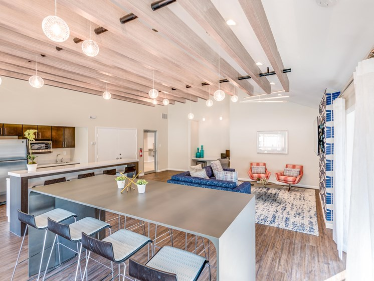 Community Clubhouse With Tv at Westwinds Apartments, Annapolis, MD, 21403
