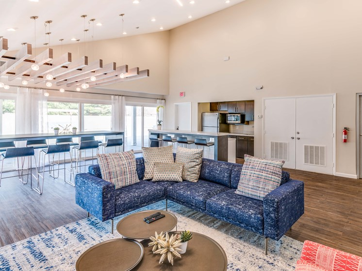 Community Clubhouse at Westwinds Apartments, Annapolis, Maryland
