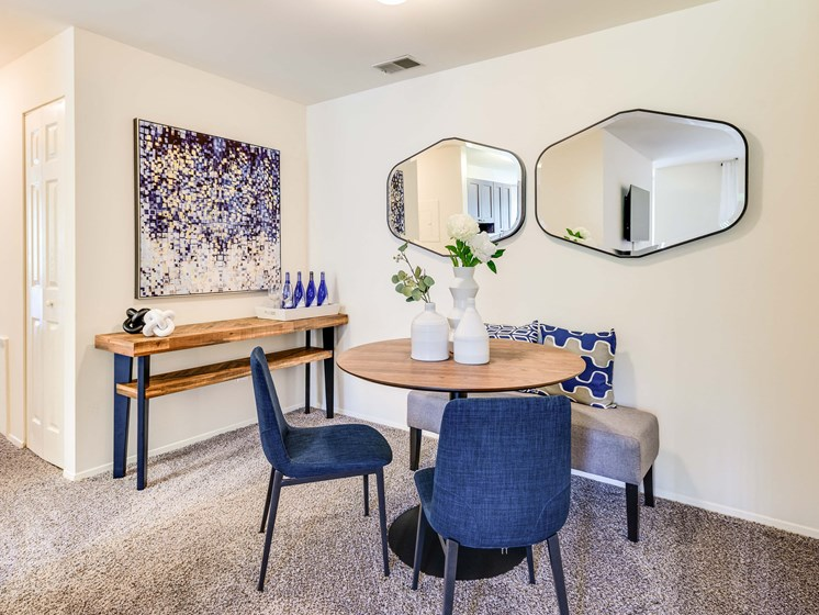 Contemporary Dining Room at Westwinds Apartments, Annapolis, MD