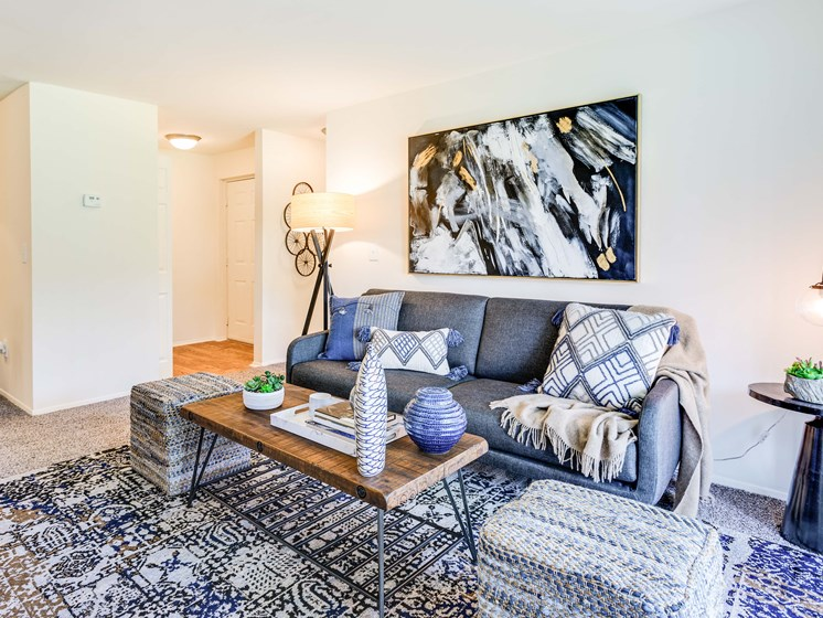 Spacious Living Room at Westwinds Apartments
