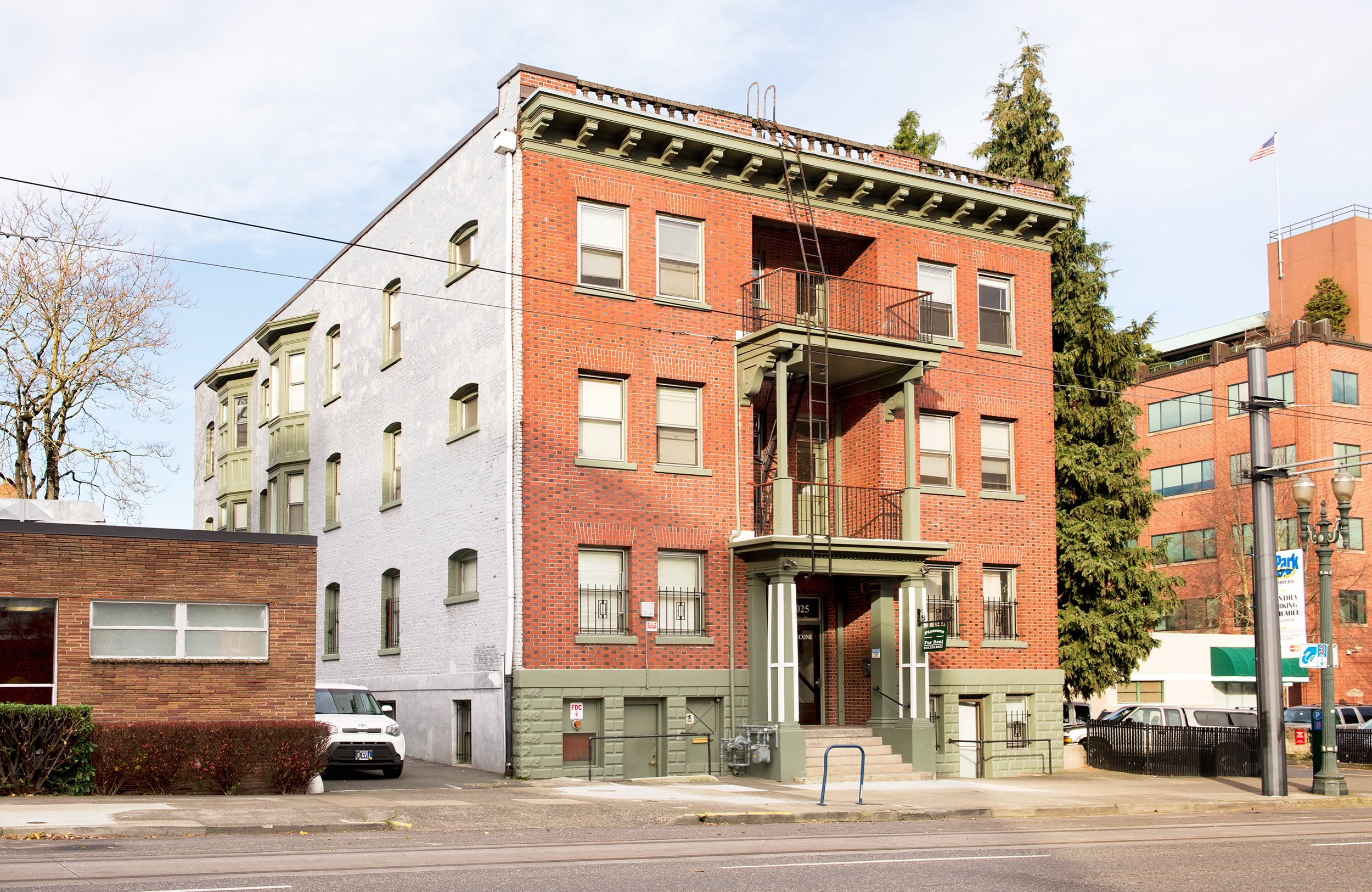 Apartments in downtown Portland
