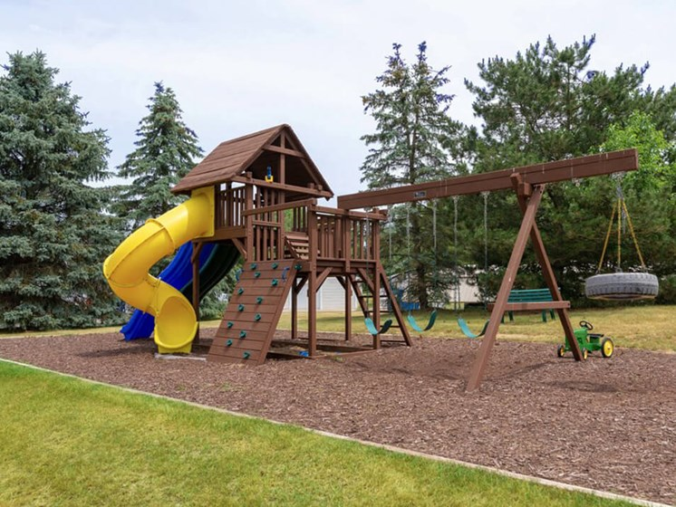playground at apartment community in Waterford MI