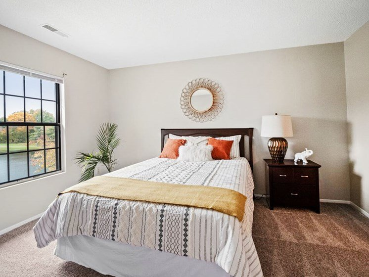 Guest Bedroom in apartment community