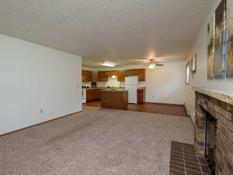 Dynasty 1 Apartments   2 Bedroom   Living Room