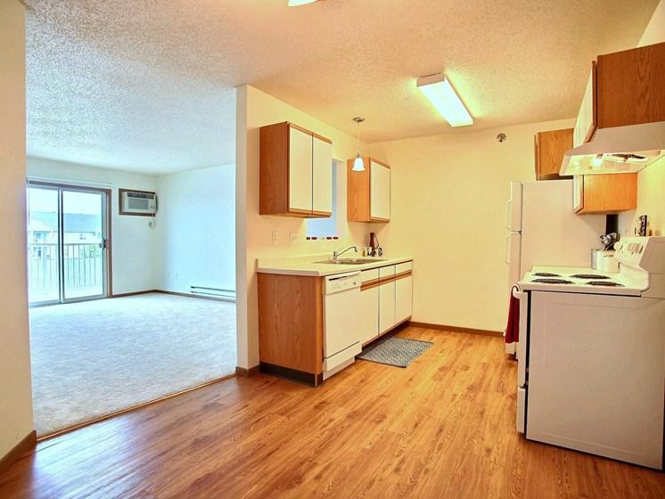 Lake Crest Apartments - 2 Bdrm - Kitchen-Plan A