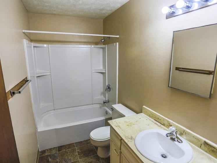 Maple Ridge Apartments | 1 Bedroom | Bath
