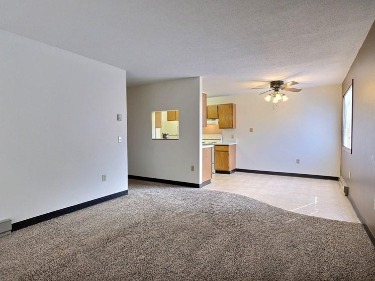 Prairiewood Meadows Apartments | 2 Bdrm - Living Rm-Dining