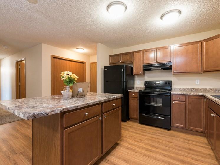 Fairview Apartments | 2 Bdrm-Plan B - Kitchen