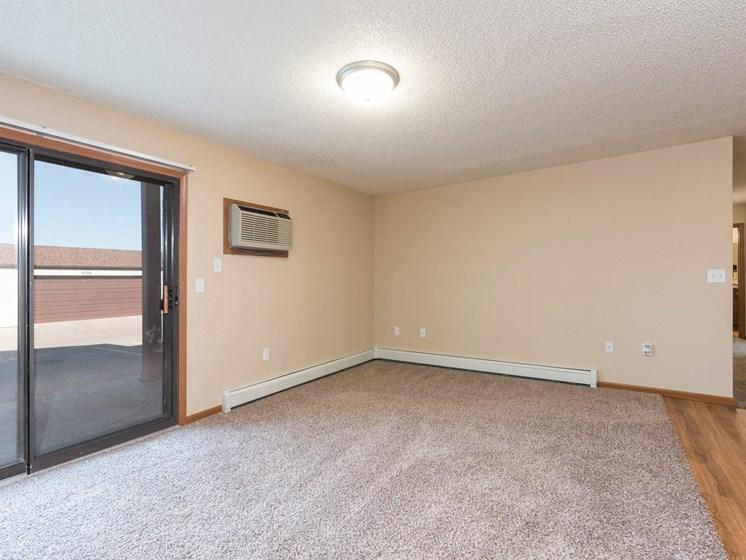 Fairview Apartments | 2 Bdrm-Plan B - Living Room
