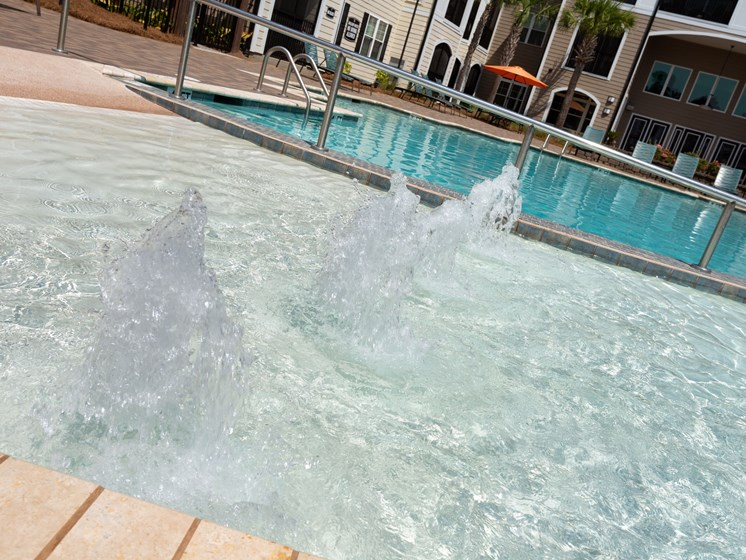 Private Swimming Pool at Abberly Crossing Apartment Homes by HHHunt, Ladson, South Carolina