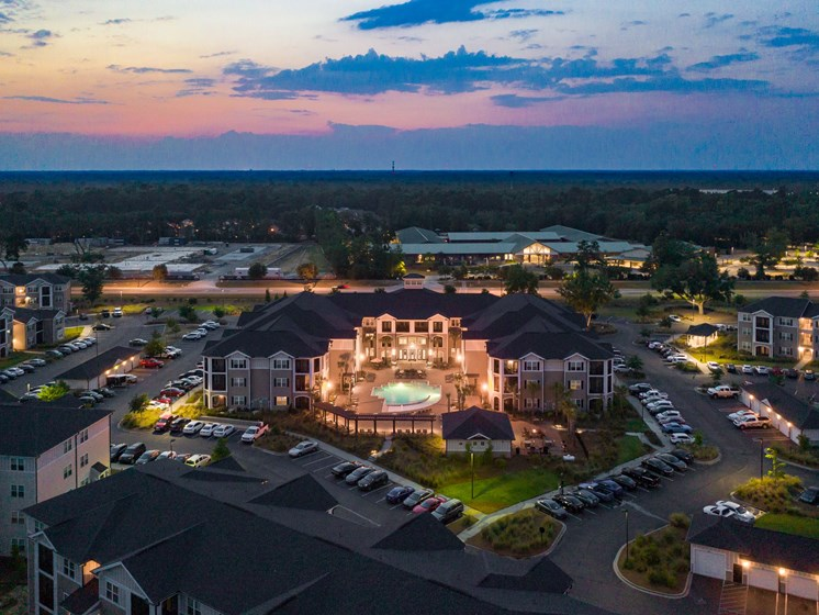 Magnificent View Of Community at Abberly Crossing Apartment Homes by HHHunt, Ladson, 29456