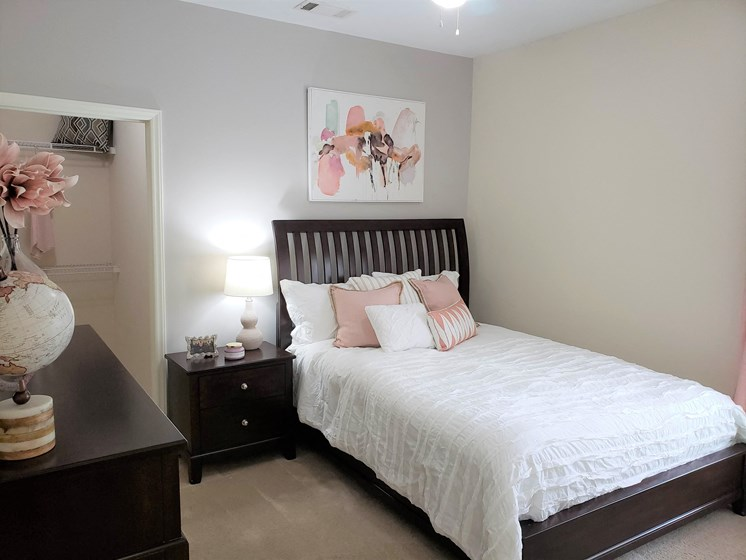 Well Appointed Bedroom at Abberly Grove Apartment Homes by HHHunt, Raleigh, North Carolina