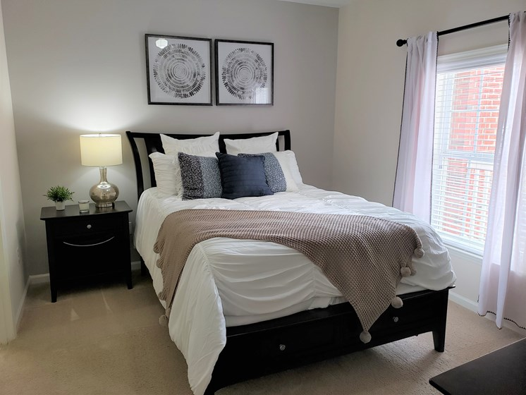 Large Comfortable Bedrooms at Abberly Grove Apartment Homes by HHHunt, Raleigh, NC, 27610