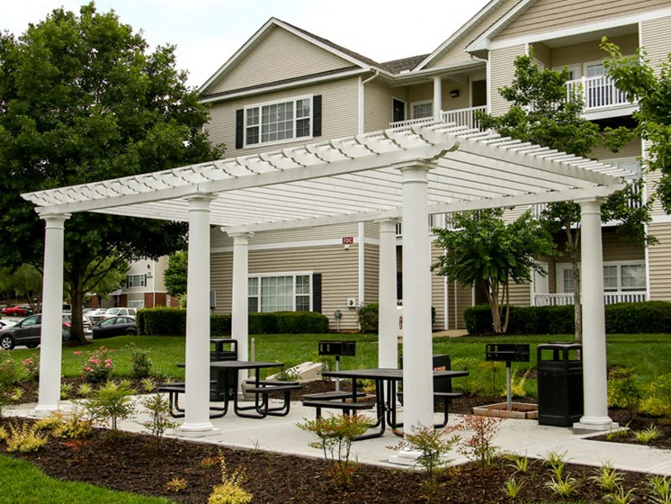 Beautiful Landscaping and Park-like Setting at Abberly Grove Apartment Homes by HHHunt, Raleigh, 27610
