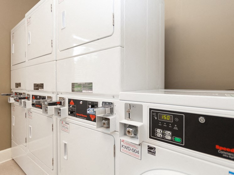 Laundry Rooms at Abberly Grove Apartment Homes by HHHunt, Raleigh, 27610